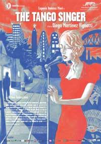 La Cantante de Tango - 43 x 62 Movie Poster - Bus Shelter Style A