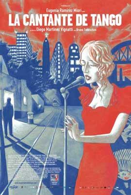La Cantante de Tango - 11 x 17 Movie Poster - Belgian Style A