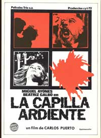 La capilla ardiente - 27 x 40 Movie Poster - Spanish Style A