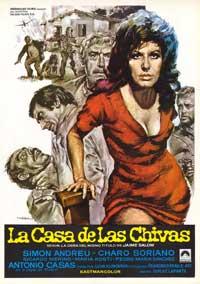 La casa de las Chivas - 43 x 62 Movie Poster - Spanish Style A