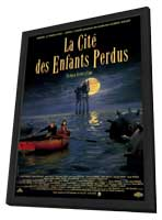 La Cite des Enfants Perdus - 27 x 40 Movie Poster - Style A - in Deluxe Wood Frame
