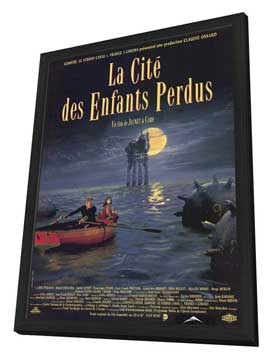 La Cite des Enfants Perdus - 11 x 17 Movie Poster - Style A - in Deluxe Wood Frame