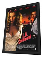 L.A. Confidential - 11 x 17 Movie Poster - Style A - in Deluxe Wood Frame