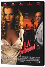 L.A. Confidential - 27 x 40 Movie Poster - Style A - Museum Wrapped Canvas