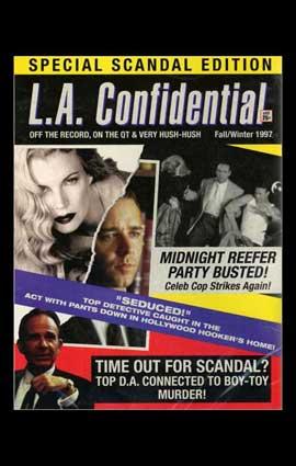 L.A. Confidential - 11 x 17 Movie Poster - Style E