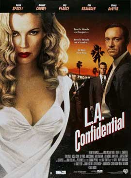 L.A. Confidential - 27 x 40 Movie Poster - French Style A