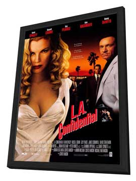 L.A. Confidential - 27 x 40 Movie Poster - Style A - in Deluxe Wood Frame