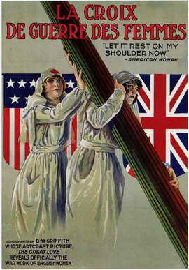 La Croix de Guerre des Femmes - 11 x 17 Movie Poster - Style A