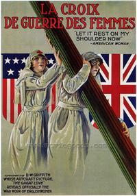 La Croix de Guerre des Femmes - 43 x 62 Movie Poster - Bus Shelter Style A