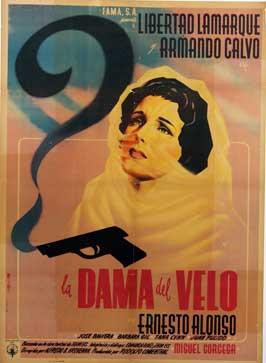 La dama del velo - 11 x 17 Movie Poster - Spanish Style A