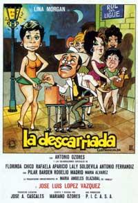 La Descarriada - 11 x 17 Movie Poster - Spanish Style A