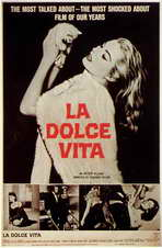 La Dolce Vita - 11 x 17 Movie Poster - Style A