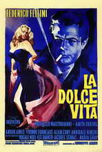 La Dolce Vita - 27 x 40 Movie Poster - Italian Style A