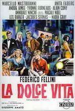La Dolce Vita - 27 x 40 Movie Poster - Italian Style C