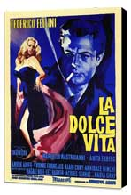 La Dolce Vita - 11 x 17 Poster - Foreign - Style A - Museum Wrapped Canvas