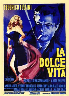 La Dolce Vita - 11 x 17 Poster - Foreign - Style A