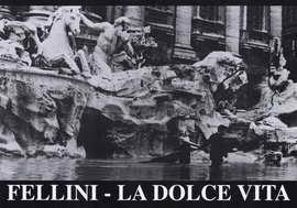 La Dolce Vita - 11 x 17 Movie Poster - Style B