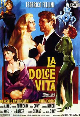 La Dolce Vita - 11 x 17 Poster - Foreign - Style C