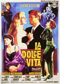 La Dolce Vita - 11 x 14 Poster - Foreign - Style B