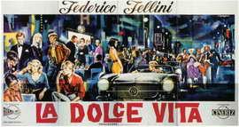 La Dolce Vita - 11 x 17 Movie Poster - Style C