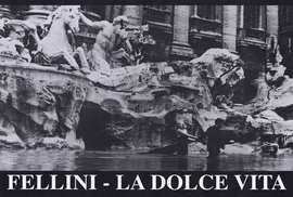 La Dolce Vita - 27 x 40 Movie Poster - Italian Style B