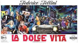 La Dolce Vita - 14 x 36 Movie Poster - Insert Style A