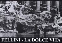 La Dolce Vita - 11 x 17 Movie Poster - Style B - Museum Wrapped Canvas