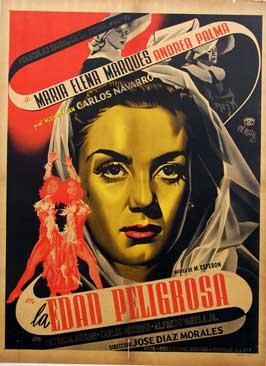 La edad peligrosa - 11 x 17 Movie Poster - Spanish Style A