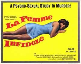 La Femme Infidele - 11 x 14 Movie Poster - Style A