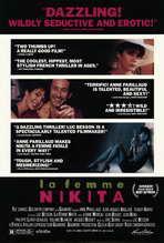 La Femme Nikita - 11 x 17 Movie Poster - Style B