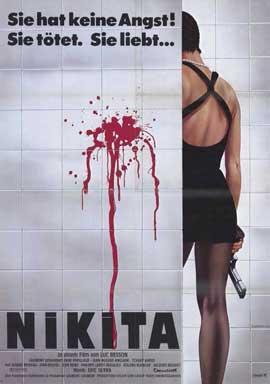 La Femme Nikita - 11 x 17 Movie Poster - German Style A