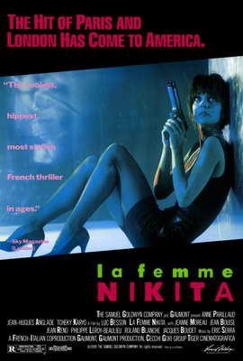 La Femme Nikita - 27 x 40 Movie Poster - Style A