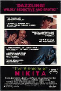 La Femme Nikita - 27 x 40 Movie Poster - Style B