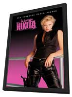 La Femme Nikita - 27 x 40 TV Poster - Style A - in Deluxe Wood Frame