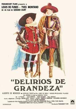 La Folie des Grandeurs - 11 x 17 Movie Poster - Spanish Style A