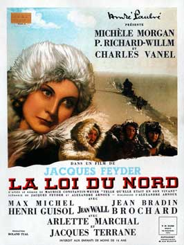 La loi du nord - 11 x 17 Movie Poster - French Style A