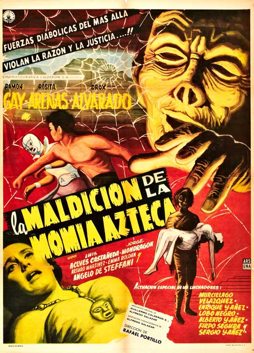 La momia azteca movie