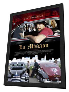 La mission - 11 x 17 Movie Poster - Style A - in Deluxe Wood Frame
