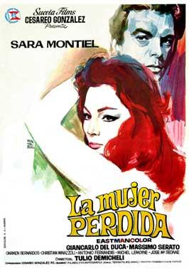 La mujer perdida - 43 x 62 Movie Poster - Spanish Style A