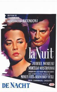 La Notte - 11 x 17 Movie Poster - Belgian Style A