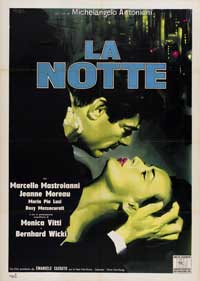 La Notte - 43 x 62 Movie Poster - Bus Shelter Style B