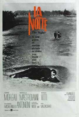 La Notte - 27 x 40 Movie Poster - Style B