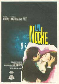 La Notte - 11 x 17 Movie Poster - Spanish Style A