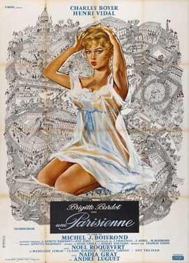 La Parisienne - 11 x 17 Movie Poster - French Style A