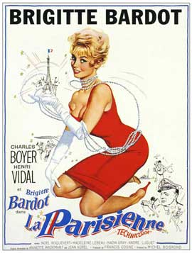La Parisienne - 11 x 17 Movie Poster - French Style B