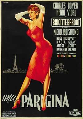 La Parisienne - 11 x 17 Movie Poster - Italian Style C