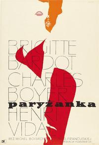 La Parisienne - 11 x 17 Movie Poster - Polish Style D