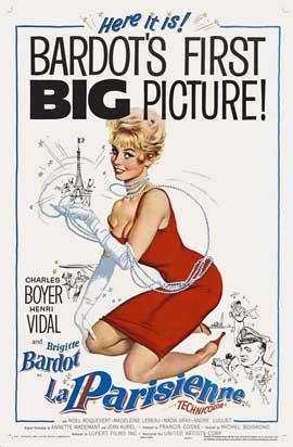 La Parisienne - 27 x 40 Movie Poster - Style A