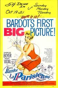 La Parisienne - 27 x 40 Movie Poster - Style B
