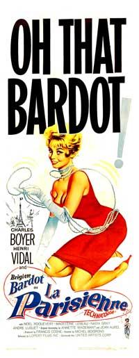 La Parisienne - 20 x 60 - Door Movie Poster - Style A